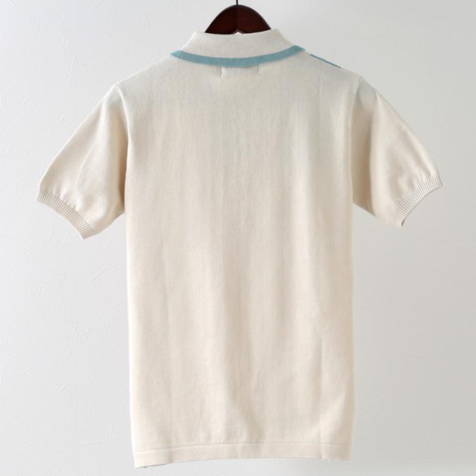Madcap England メンズ ポロシャツ ポロ ストライプ 19SS バーチ マッドキャップ