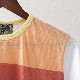 Madcap England Tシャツ ストライプ Rainbow  White マッドキャップ レッド メンズ
