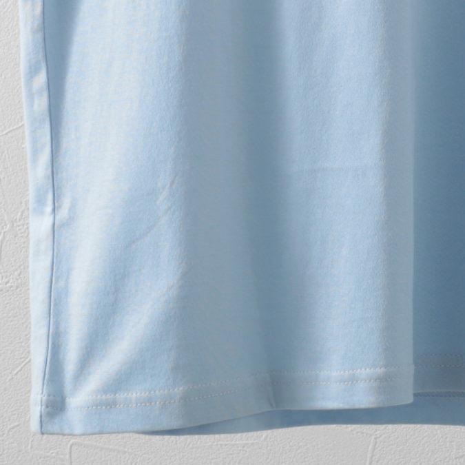 Tシャツ ストライプロゴ チェスト  2色 スカイ ダークネイビー レギュラーフィット Ben Sherman ベンシャーマン
