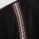 ポロシャツ バーティカルストライプ 2色 ブラック ワイン メンズ Merc London メルクロンドン