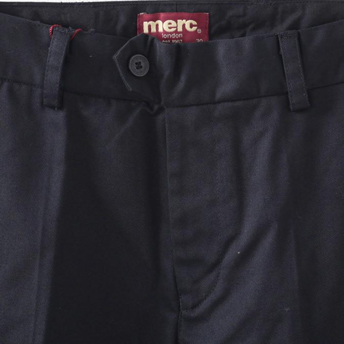 メルクロンドン メンズ トラウザー チノパン モッズ メルク ボトムス パンツ ズボン ネイビー Merc London