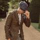 Laird Hatters メンズ キャスケット 英国製 ハンチング ウール ツイード ハンチング帽 レアードハッター Baker Boy Small Square ベイカーボーイ 帽子 イギリス製 ハンドメイド グレー レディース モッズファッション 紳士