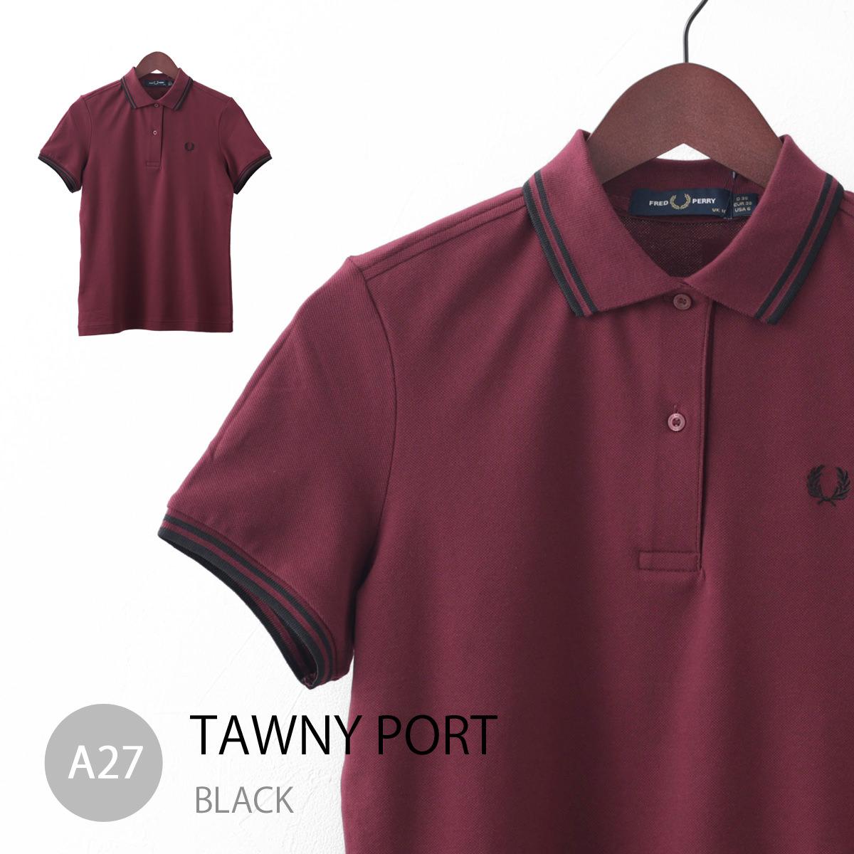Fred Perry フレッドペリー レディース ポロシャツ G3600 ティップライン 5色 正規販売店