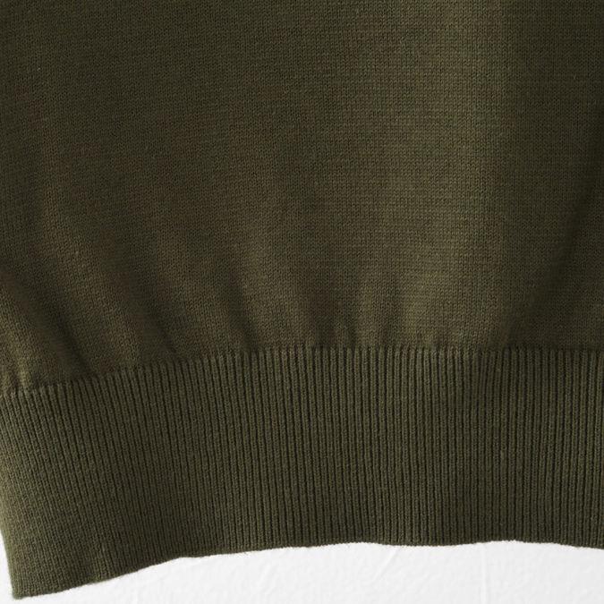 メルクロンドン メンズ ポロシャツ ポロ Merc London チェストストライプ ニット 19SS  2色 スカイ ダークセージ
