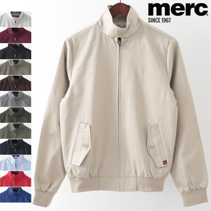 メルクロンドン Merc London ハリントンジャケット 12色 スイングトップ ハリントン ブルゾン メンズ