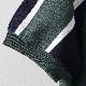 ベンシャーマン メンズ クルーネック ニット バーティカル ストライプ Ben Sherman トレッキンググリーン レギュラーフィット