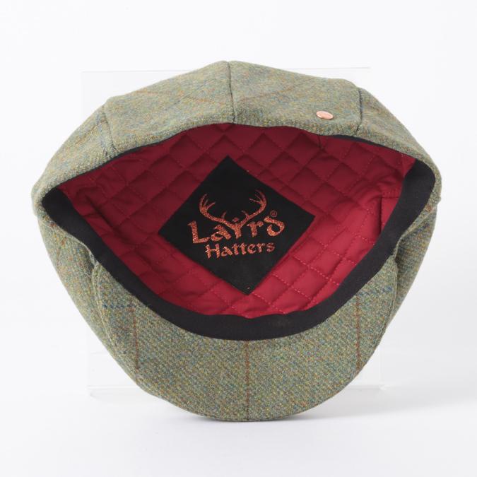 Laird Hatters メンズ キャスケット 英国製 ハンチング ウール ツイード ハンチング帽 レアードハッター  Flat Cap Tweed フラットキャップ ツイード 帽子 イギリス製 フォレスト レディース モッズファッション 紳士