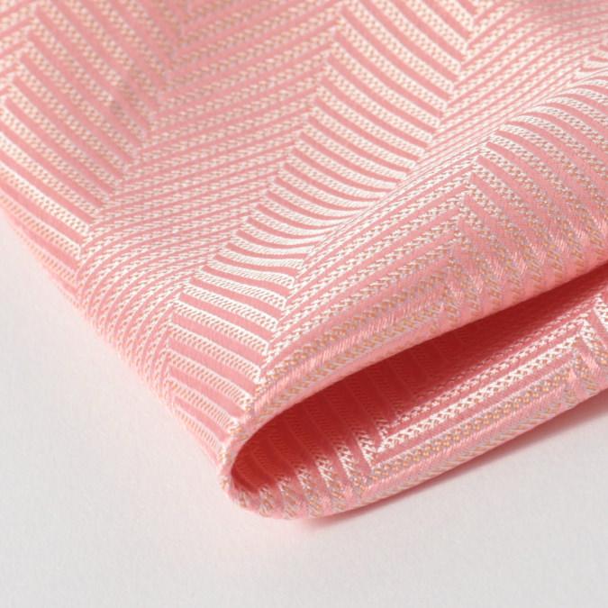 英国ブランドメンズギフト4点フルセット Quit Running ヘリンボーン ピンク ネクタイ ポケットチーフ タイクリップ カフス クイトランニング