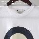 ベンシャーマン メンズ Tシャツ シグネチャー モード ターゲット Ben Sherman ホワイト レギュラーフィット