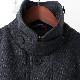 メルクロンドン メンズ ドンキージャケット Merc London ツイード W1 プレミアム 19SS  ネイビーマール Jacket ジャケット