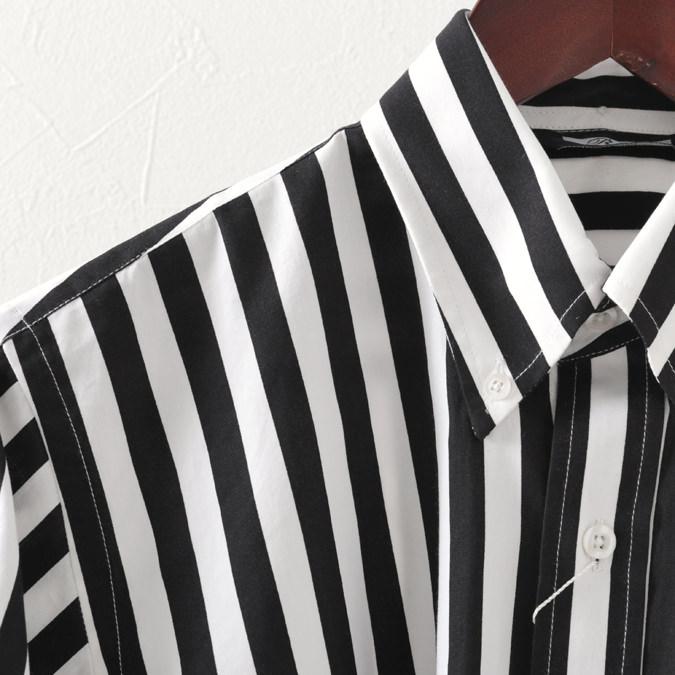 RELCO レルコ シャツ ストライプ シャツ レトロ 長袖 シャツ メンズ モッズファッション シャツ メンズ