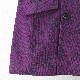70年代風モッズファッション メンズ ジャケットコート バロック ペイズリー ダマスク コーデュロイ ダブルボタン グレープ パープル Madcap England マッドキャップ