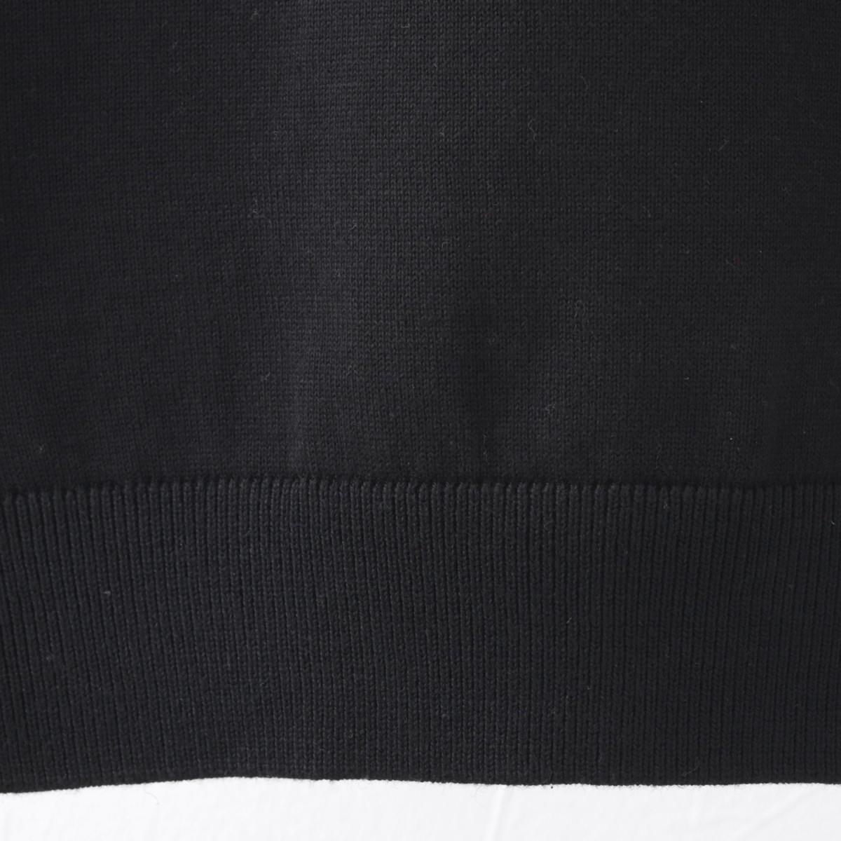 Gabicci メンズ ポロシャツ ポロ マルチストライプ ガビッチ 4色 シェード ブラック ネイビー ホワイト レトロ モッズファッション