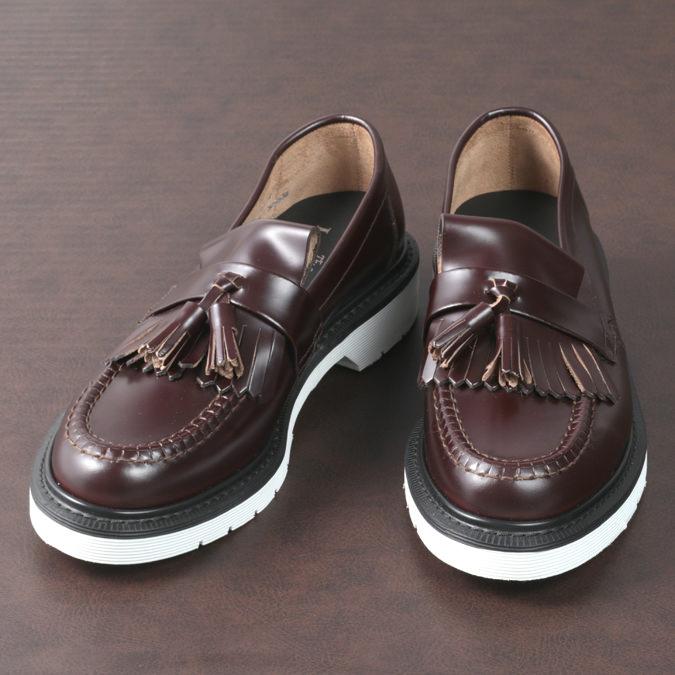 Loake England メンズ ロークイングランド タッセルローファー 革靴 オックスブラッド ビジネス ローファー F 3E 623 BRIGHTON SHOEMAKERS ブライトン 革靴 レディース