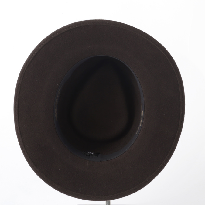 Laird Hatters メンズ フェドラハット 英国製 ウールハット フェルトハット レアードハッター 折り畳み可能 Country Crushable 帽子 イギリス製 ブラウン レディース モッズファッション 紳士