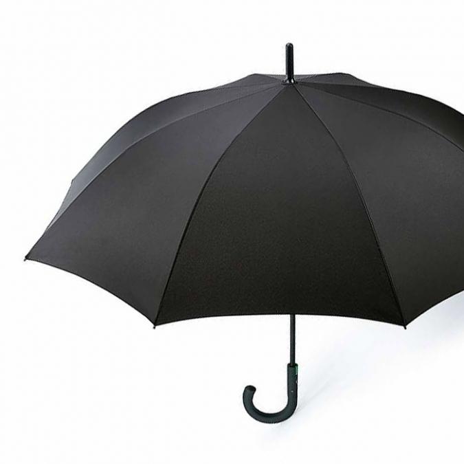 FULTON フルトン 傘 ブラック Typhoon タイフーン 耐風 ワンタッチ ジャンプ傘 長傘 メンズ 強風
