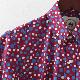 RELCO メンズ 半袖シャツ ポルカドット レルコ レトロ バーガンディー モッズファッション