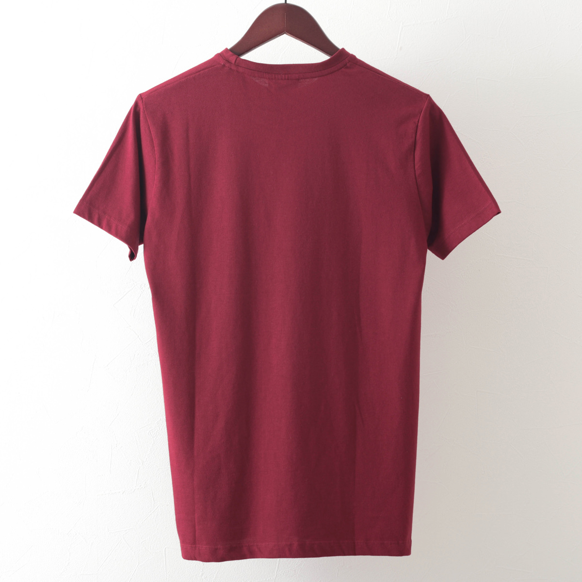 Tシャツ スクーターヘッドランプ 2色 バーガンディ オフホワイト モッズファッション メンズ Merc London メルクロンドン