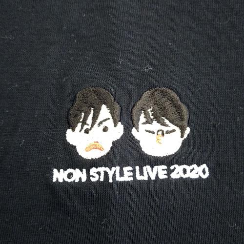 NON STYLE LIVE 2020 刺繍Tシャツ