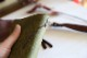 サイズの選べるブックカバー オリーブグリーン