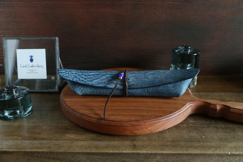 """1st Anniv.モデル ペンケース """"Boat2(ボート2)"""" ターコイズ"""