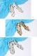 <121003-2111> coca / コカ メタリック ラメグリッター パンプス サンダル 手編みメッシュシューズ シルバー