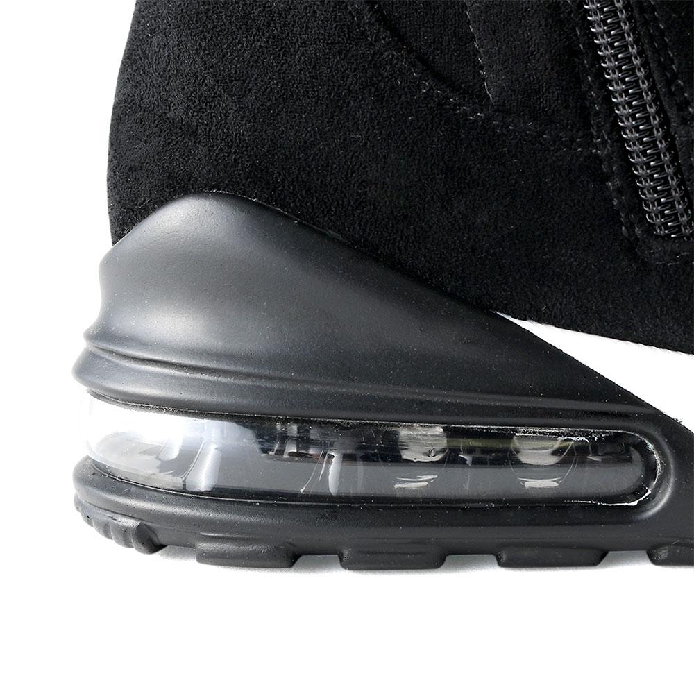 <420705-2021> coca porta / コカポルタ ストレッチ ハイカット スニーカーブーツ ブラック