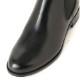 <419010-1921> coca / コカ サイドゴア 2.5cmヒール 本革 ショートブーツ ブラック