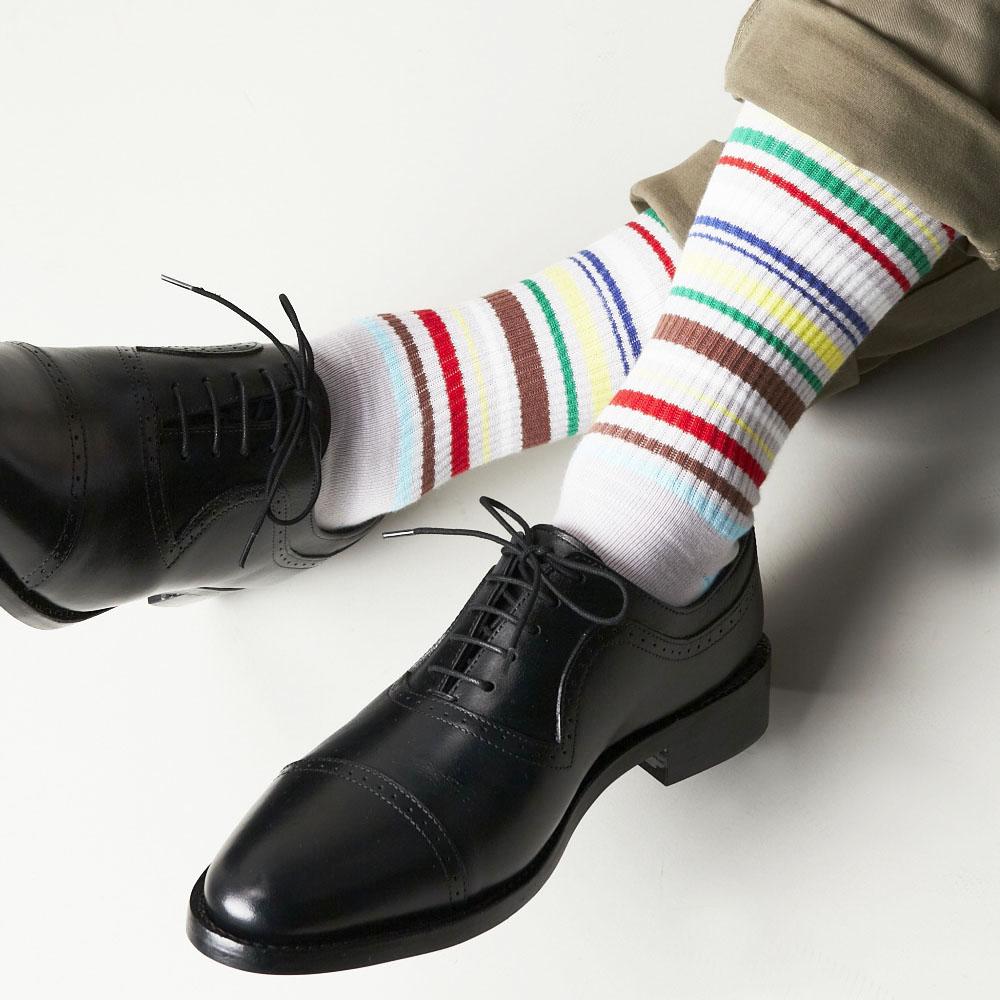 【30%OFF】London Shoe Make THE SOCKS| No,118902 絵描き/ Painter 日本製 メンズソックス・グレー 【返品・交換不可】