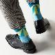 【30%OFF】London Shoe Make THE SOCKS| No,118903 傘職人/ Craftsman 日本製 メンズソックス・ブルー 【返品・交換不可】