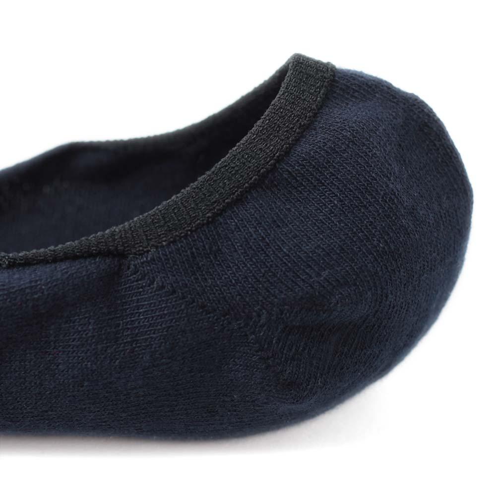 【30%OFF】London Shoe Make THE SOCKS| No,118905 数学者/Mathmatician 滑り止め付き メンズカバーソックス ネイビー 日本製 【返品・交換不可】【メール便送料無料】