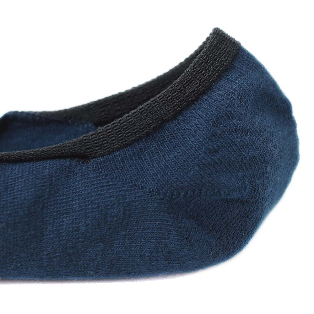 【30%OFF】London Shoe Make THE SOCKS| No,118906 愛好家/ Lover 滑り止め付き メンズカバーソックス ネイビー 日本製 【返品・交換不可】【メール便送料無料】
