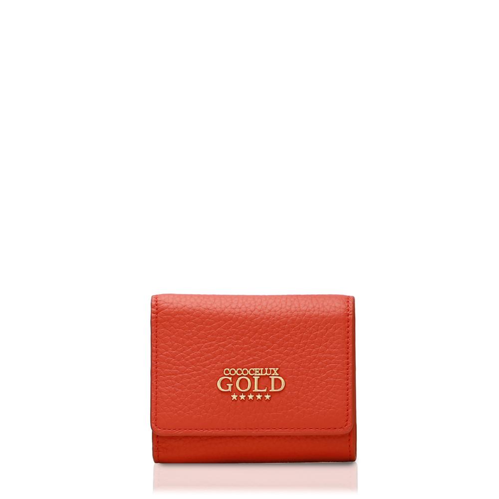 COCOCELUX GOLD ヘラクレスGOLDシュリンク 3つ折りウォレット