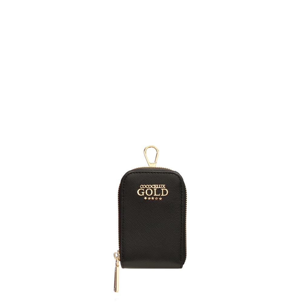 COCOCELUX GOLD サフィアーノレザー 錠前付き コンボ 2WAYバッグ