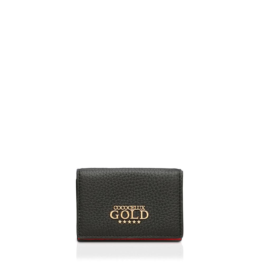 COCOCELUX GOLD ヘラクレスGOLDシュリンク 2つ折りウォレット スモール