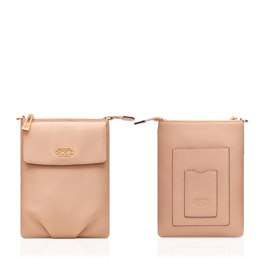 COCOCELUX GOLD ヘラクレスGOLDシュリンク スマートフォンポケット付 3WAYポシェット one color