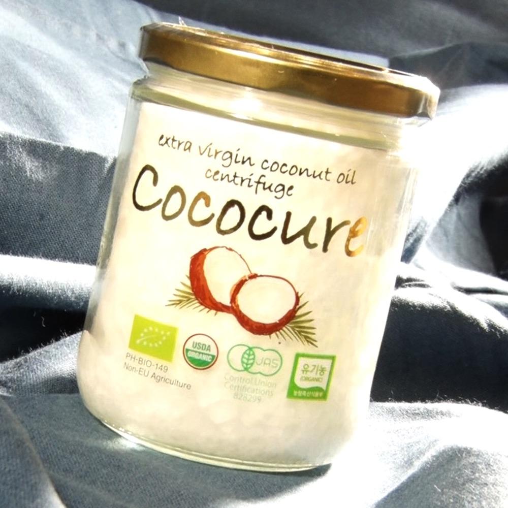 ココキュア 製法別オーガニックココナッツオイル2本セット