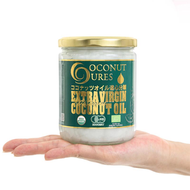 COCOCURE ココキュア ココナッツオイル 一番搾り製法 ミンダナオ産
