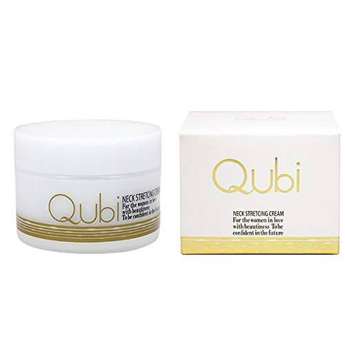 Qubi キュービー ストレッチクリーム 80g (ネッククリーム 首元クリーム)