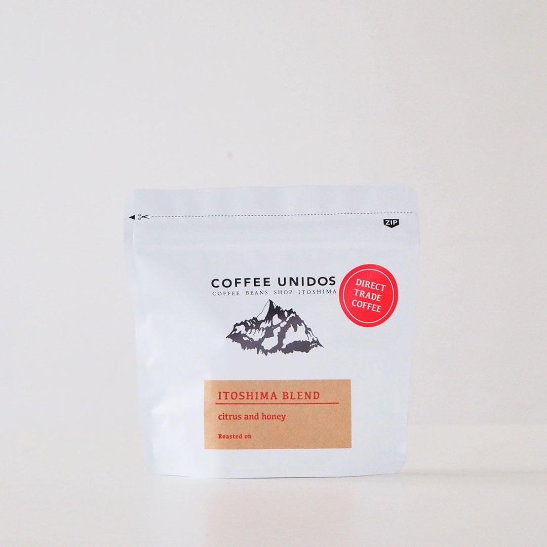 コーヒー豆/中煎り/糸島ブレンド/100g