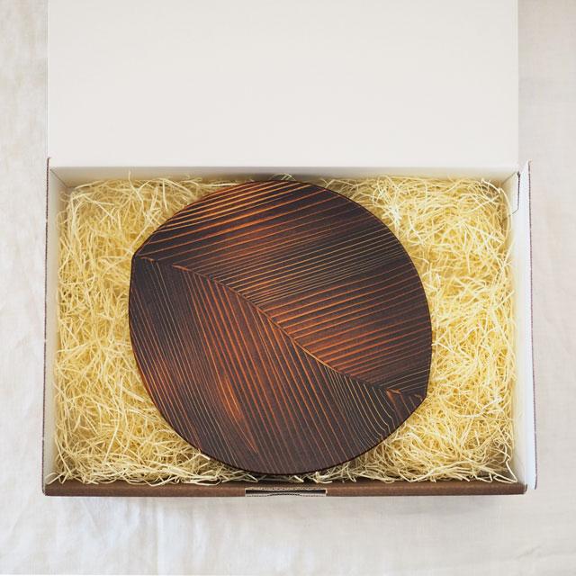 うるしの木の葉皿(21cm)のギフト