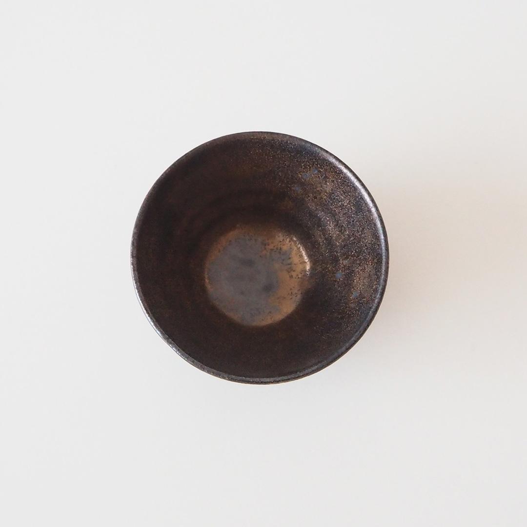 黒金彩/ぐい呑み