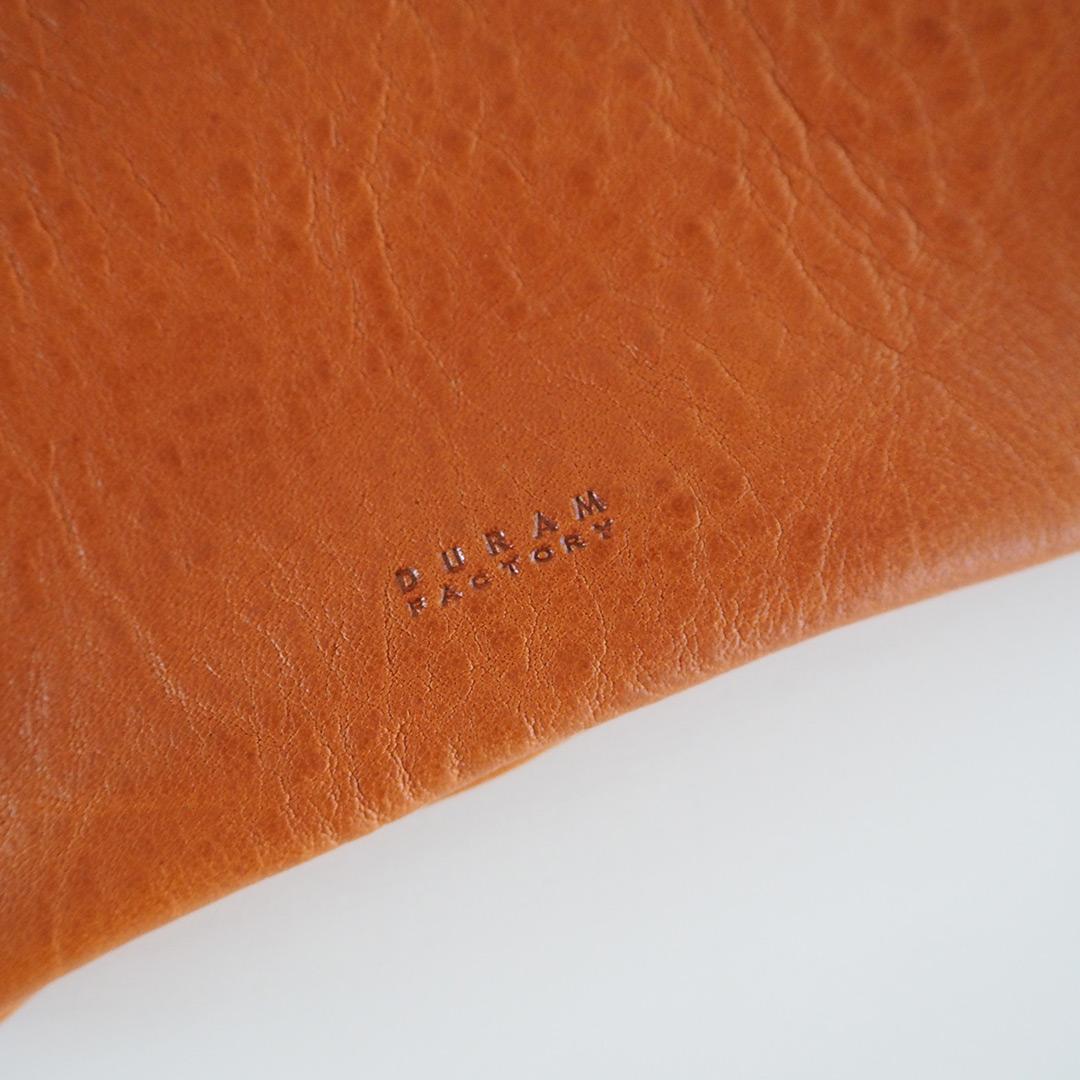 革製フラップポーチD