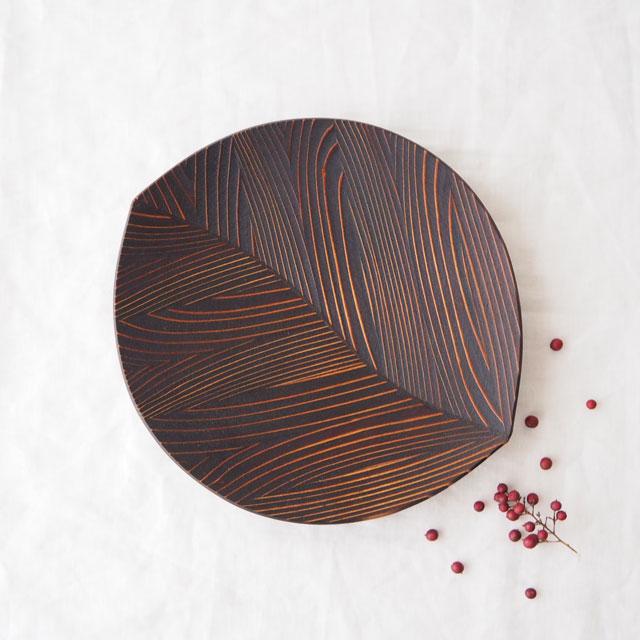 うるしの木の葉皿(27cm)のギフト
