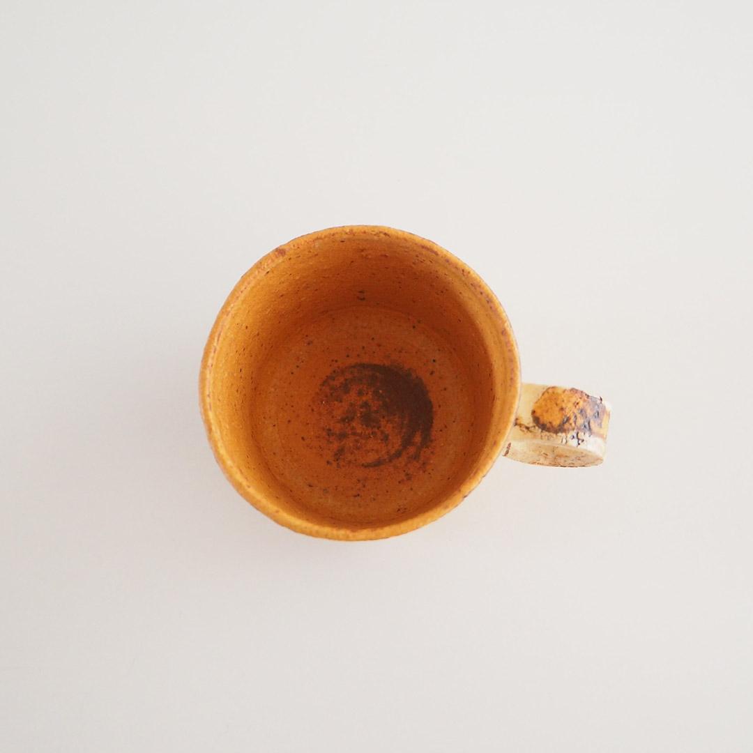 memollage/デミタスカップ/マスタード