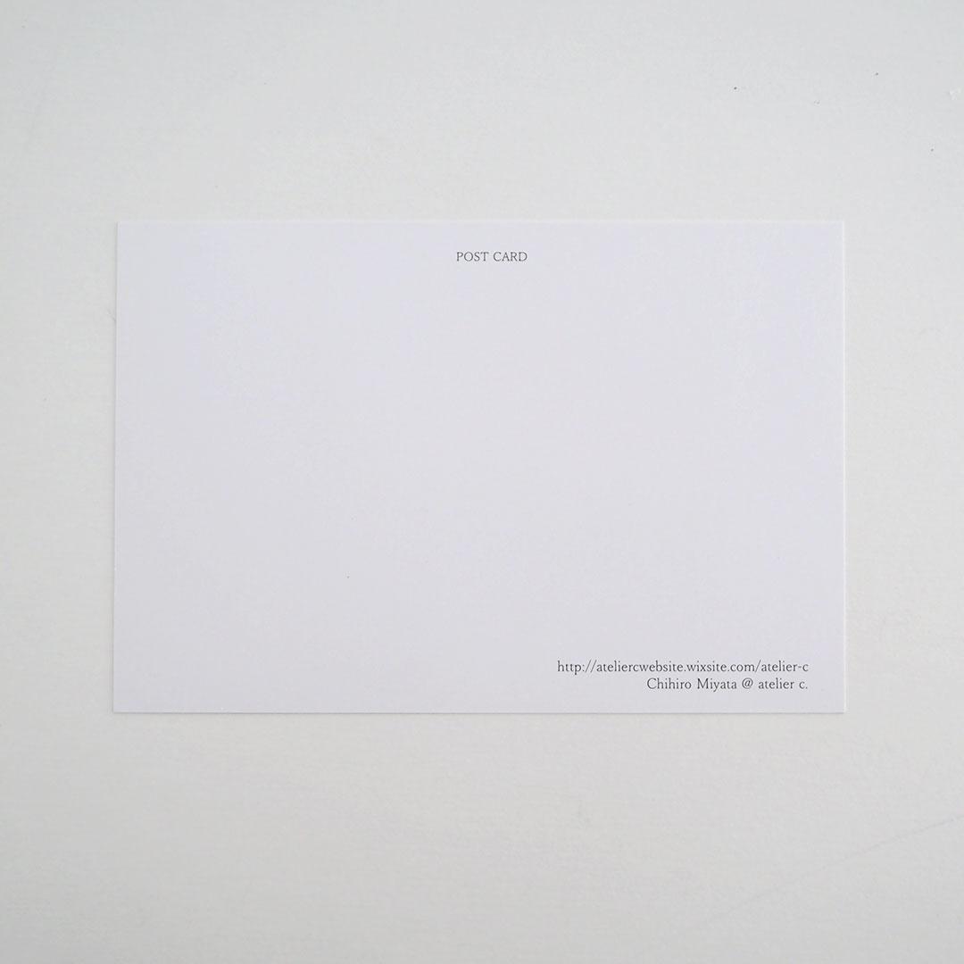 ポストカード/漁船の帰り道(加布里漁港)