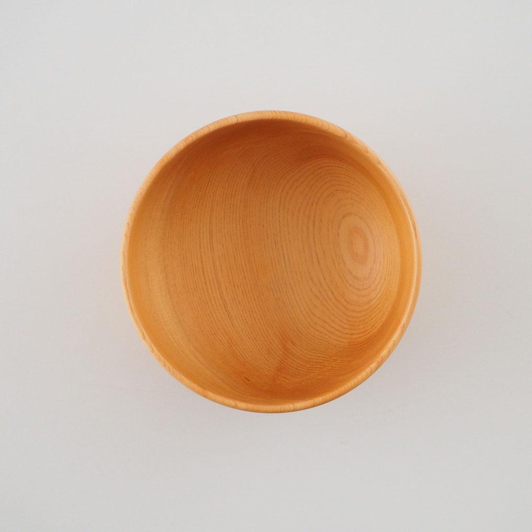 木のお椀/ヒバ/中