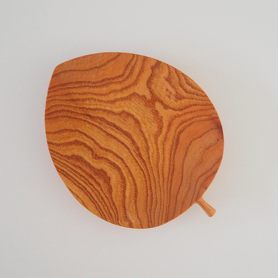 木の葉のプレート/大