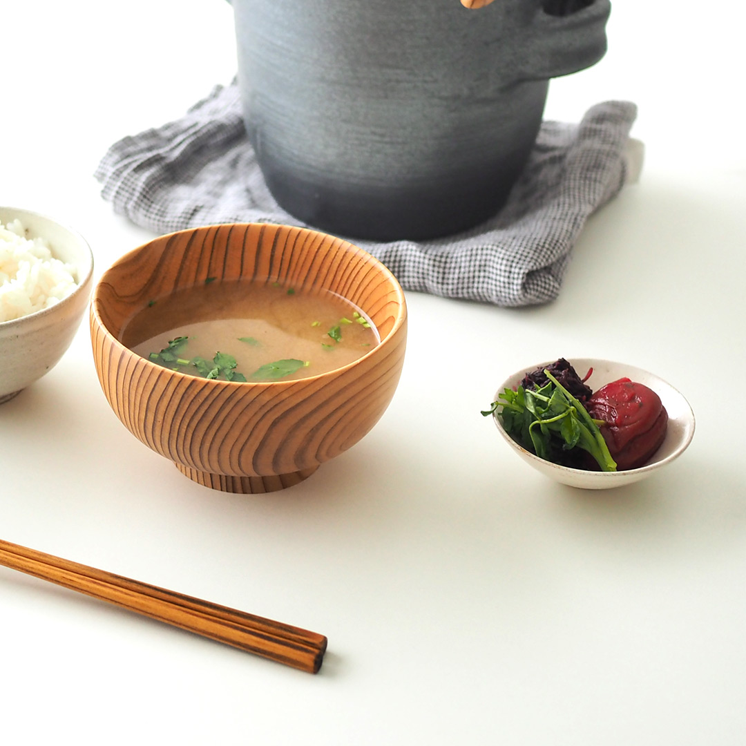 粉引/平鉢/豆