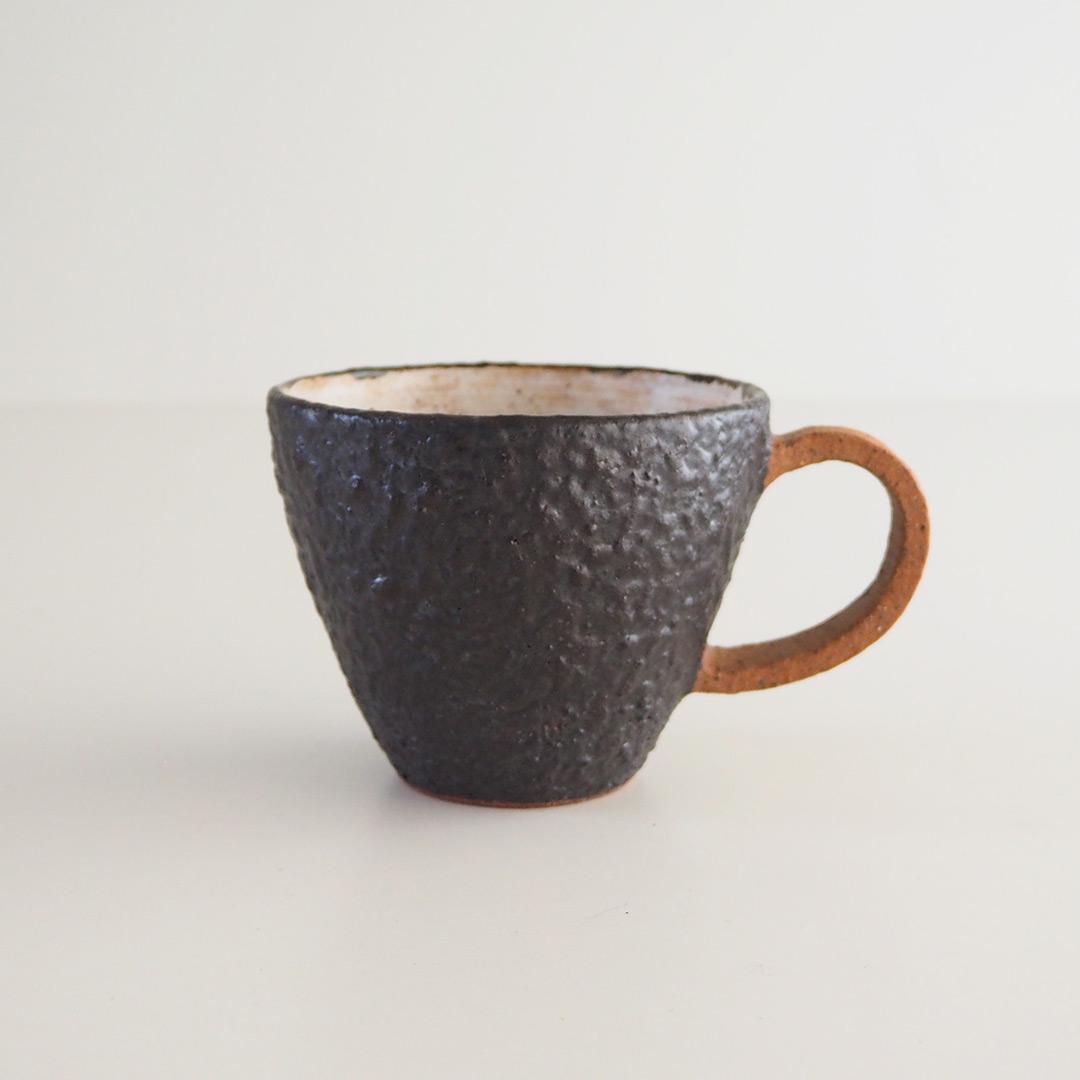 YOGAN黒/三角マグカップ